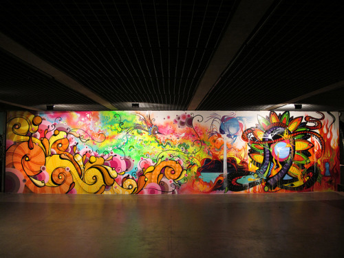 Bienal de Graffiti - FINE ART - MUBE SP 2010 (by Zezão viciopifdst)