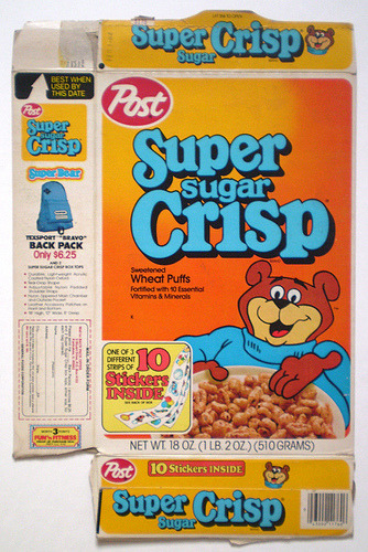 Super Sugar Crisp Photo courtesy of Gregg Koenig