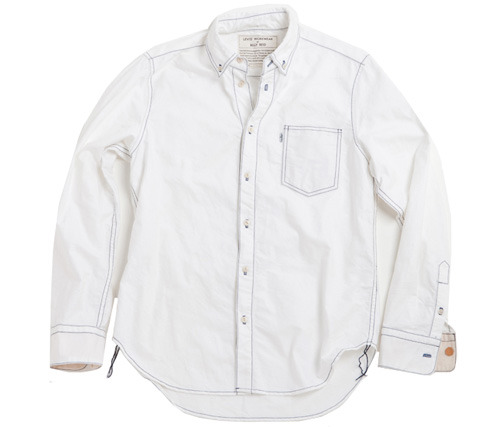 Billy Reid x Levi's White Oxford Shirt