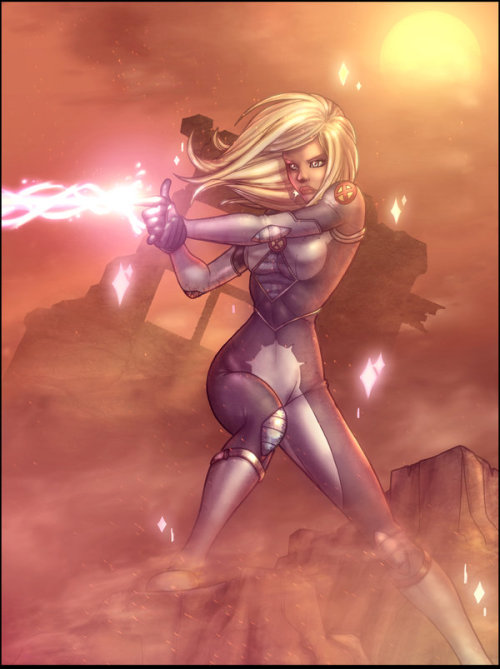 fyxmen:  Dazzler XMEN Strikeforce by `vest