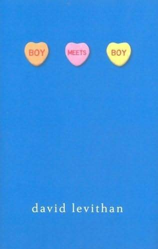 "Boy Meets Boy by David Levithan In this delightful young adult novel for readers  12 and up, high school sophomore Paul says, ""There isn't really a gay  scene or a straight scene in our town. They got all mixed up a while  back, which I think is for the best."" And, as he observes at the end of  the story, ""It's a wonderful world."" Paul has both gay and straight  friends, and they all hang out together at terrific bookstores and  concerts, and advise one another on the sometimes troubled progress of  their various romances. Paul is smitten with Noah, and they are  beginning a serious relationship when Kyle, Paul's ex, complicates  things by deciding that all is forgiven. Joni is going out with Chuck,  who dominates her, much to her friends' disapproval. Tony's conservative  parents refuse to acknowledge that he is gay, so the others must bone  up on Bible verses all week so they can pretend Saturday night is a  study group. And then there's Infinite Darlene, football quarterback and  Homecoming Queen, who deserves a whole romance novel of her own. Life  in their town is gloriously accepting of differences and only  occasionally verges on magic realism, in this first novel in which same  sex preference is not the problem. —Patty Campbell Read an excerpt on Kobo"