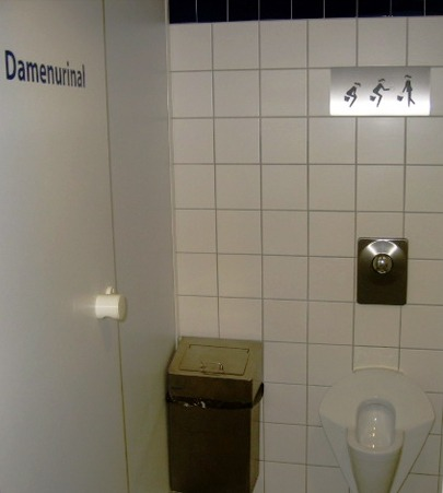 via upload.wikimedia.org Oh Germany, you and your female urinals!