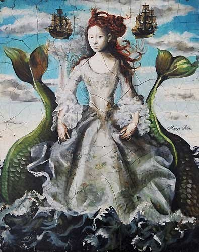 The artist Margo Selski - The Mermaid