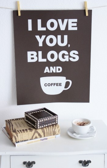 heartbeatoz:  High Street Market: I Love You, Blogs (and coffee)