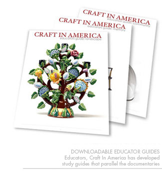 Craft in America downloadable Educator guides