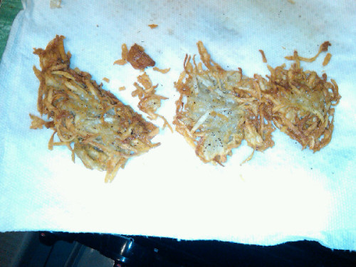I made latkes! | Plixi