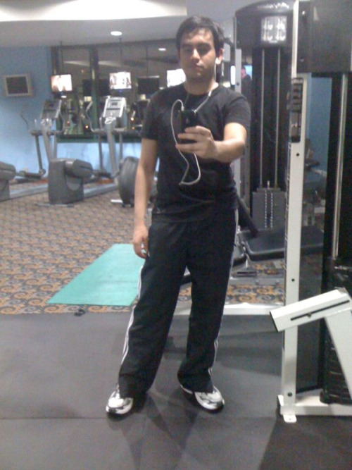 -21. A photo of you standing up. At the gym :p