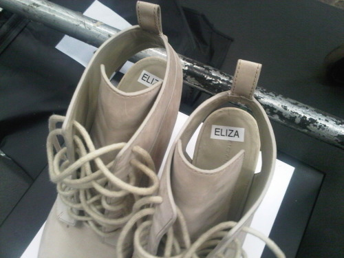 Resuming photo posting. Eliza's shoes @ wang.