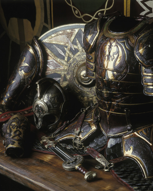 pacalin:  The most extravagant of all armor created for LOTR was that of Theoden King. Marvel at this craftsmanship by Weta Workshop.