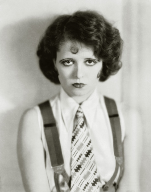 Clara Bow in The Wild Party (1929), a comedy-drama about wild college girls Costume design by Travis Banton Image Source: Flickr