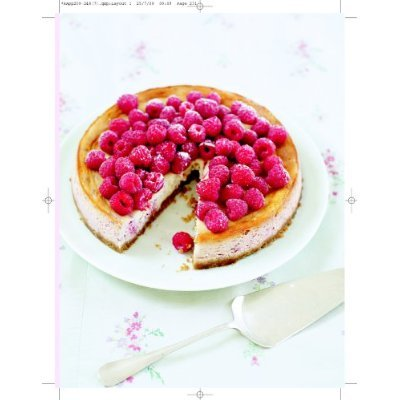 Baked rasberry and ricotta cheesecake by Rachel Allen