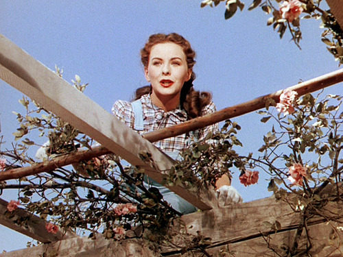 the-asphalt-jungle:  Jeanne Crain Leave Her To Heaven - (1945)