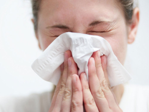 "Jennifer Ackerman, author of Ah-Choo!, on places where the common cold is likely to lurk: ""We all touch elevator  buttons. There are cold hot spots that are commonly touched by people —  in the office, it's the Xerox machine or the refrigerator handle in the  kitchen … [And] what people leave behind in hotels apart from  their spare change and bobby pins was really disheartening. Scientists  discovered that cold viruses are often left on TV remotes, pencils, door  handles — places that are frequently not really cleaned by the cleaning  crew."" (photo: iStockphoto.com)"