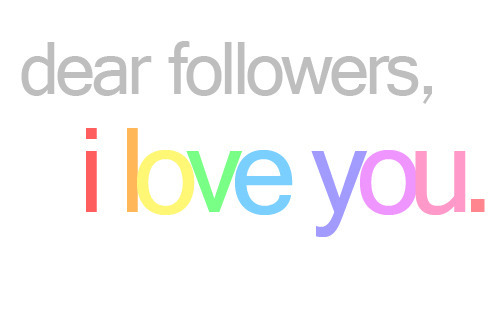 anywherewithsmiles:  dontletyourselfdown:  followlorenaon:  :)  yeah, I really do <3  not just my followers, I love all of you who reblog me. following me, or not <3  Thanks for following.^^,