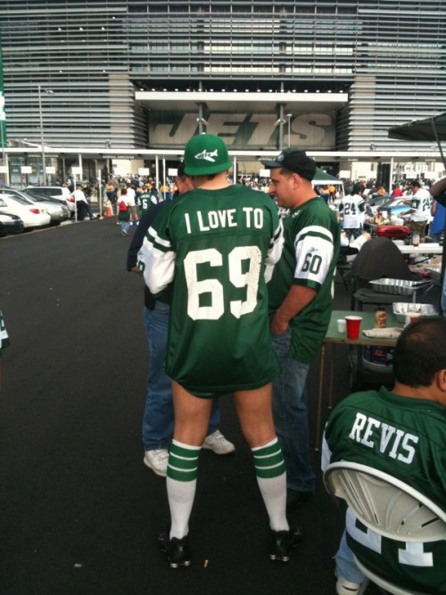 Had to post it - a whole new meaning to #ComeGetSome #Jets #NYJ #NFL