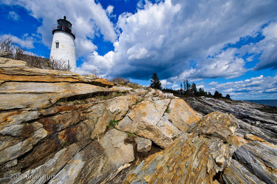 Pemaquid Point Lighthouse - Bristol, Maine (by briburt (Brian Burt Photo))
