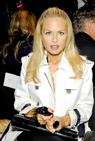 Rachel Zoe front row at the Diane Von Furstenberg Spring 2011 Ready-to-Wear show!