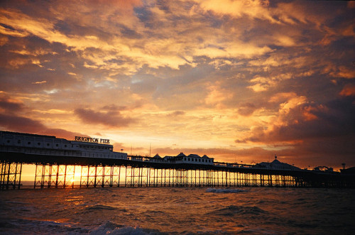 theworldwelivein:  Brighton pier, Brighton, England, Europe© kevin meredith