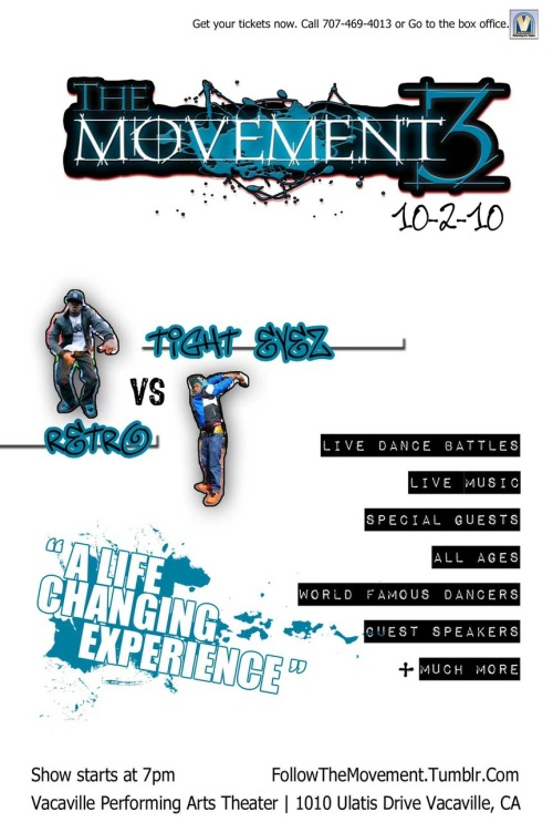 The Movement 3. The World shakes Oct 2nd.