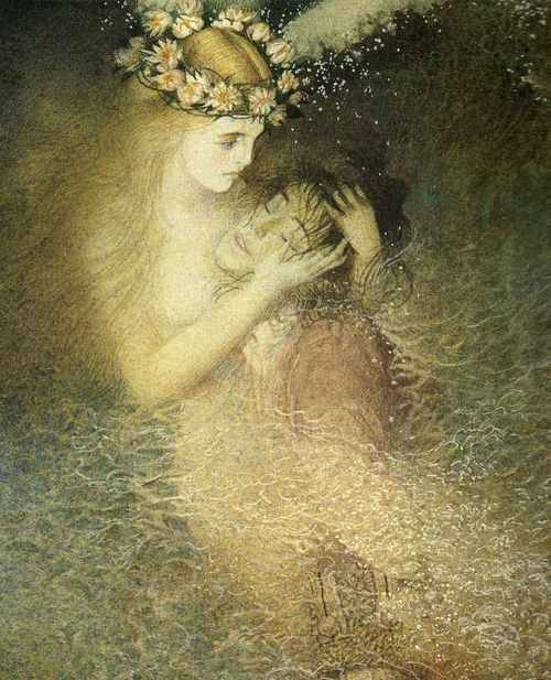 ebonymoon:Illustration for The Little Mermaid fairytale by Gennady Spirin.