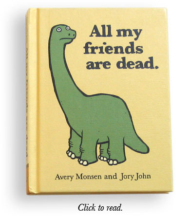 'All My Friends Are Dead' is a lovely little book helping us understand a little bit more about death. Read an extract here.