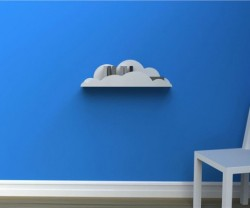 Cumulus shelf by Swedish designer Carl Hagerling.