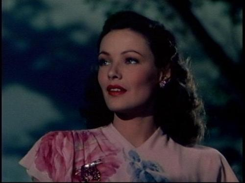 the-asphalt-jungle:  Gene Tierney Leave Her To Heaven - (1945)