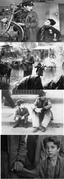 Ladri di biciclette(The Bicycle Thief), 1948 (dir. Vittorio De Sica)By gmonsterg