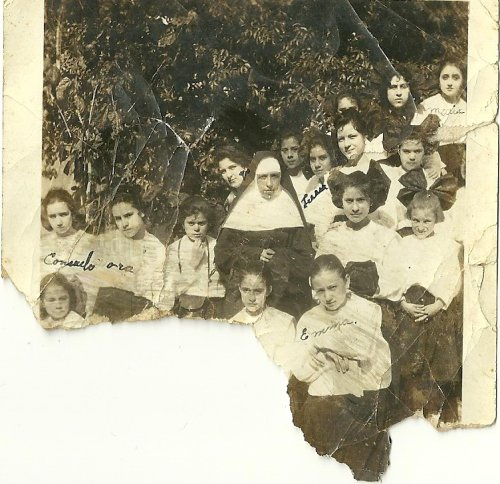 Catholic School Children Mexico Year Unknown