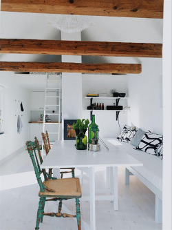 prettyspace:  a swedish holiday home (by Danielle de Lange)