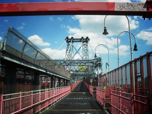 Williamsburg Bridge. New York City.