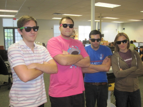 GPOYW: Grooveshark's first! From left to right: Shiffy, Forbus, Evan, and Beth—of Date Beth! fame.