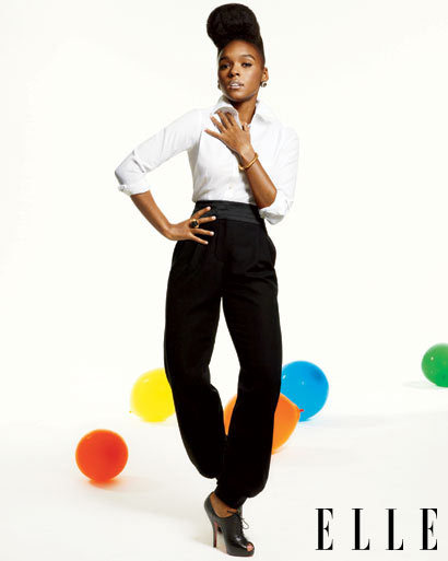 "JANELLE MONÁE ""Don't get high off praises, and don't get too low on critiques."""