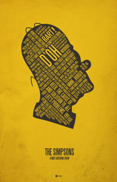 The Simpsons by Jerod Gibson