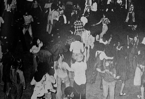 Northwest Classen Back to School Howdy Dance 1975