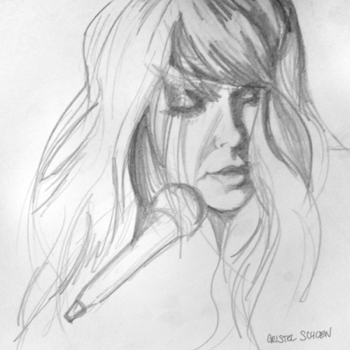 """Victoria Legrand"" Sketchbook Pencil"