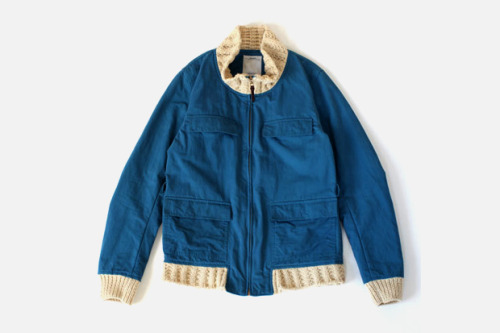 novh:  visvim REDWOOD KNIT COLLAR Jacket