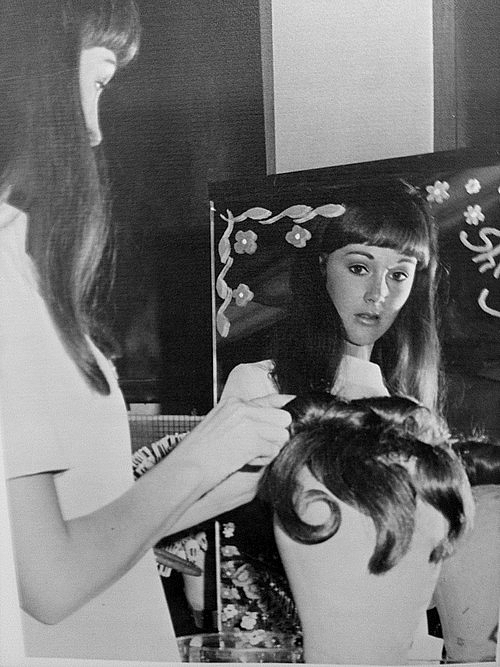 Northwest Classen beauty student 1969