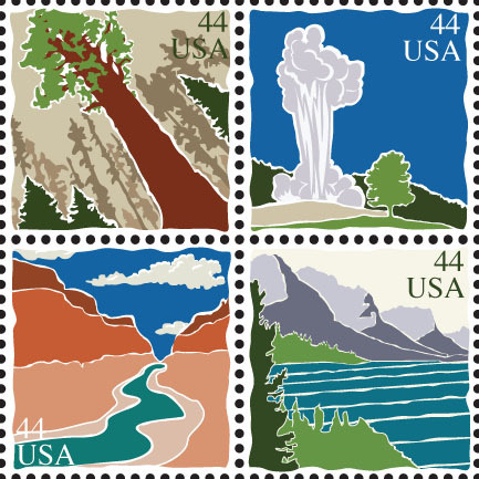 Postage Stamp Project (by Amanda)