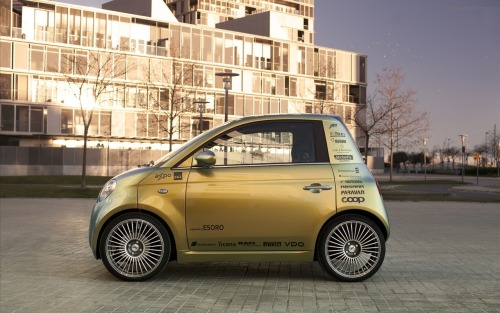 Rinspeed UC electric car concept The UC or Urban Commuter produces 98 lb-ft of torque and has a top speed of 68 mph. If you plan on driving at top speed it won't be for long trips though. The Rinspeed UC has a maximum range of 75 miles per charge.