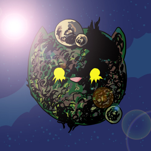 Kitty, The Living Planet by Chris Eliopoulos. AAAAAAHHHHHHHH!!!!!!!!!!!