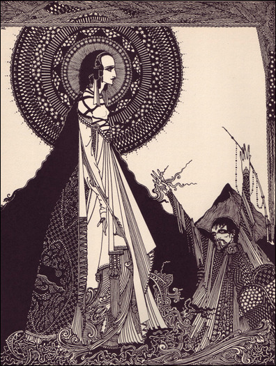 - Illustration from Poe's Tales of Mystery and Imagination (1923)by Harry Clarkevia coilhouse via A Journey Round My Skull