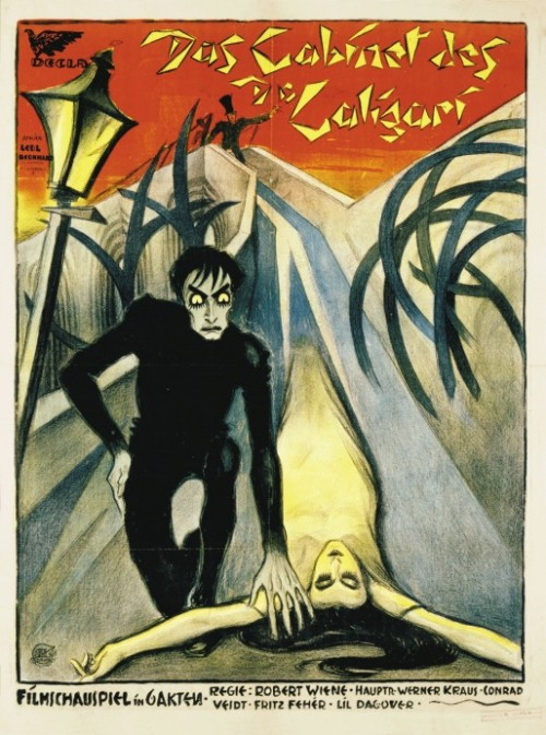 - Italian poster for The Cabinet of Dr. Caligari (1920)artist unknowndir. by Robert Wiene, starring Conrad Veidt
