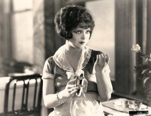 Clara Bow in a film still for Red Hair (1928) Image Source: Clara Bow Archive