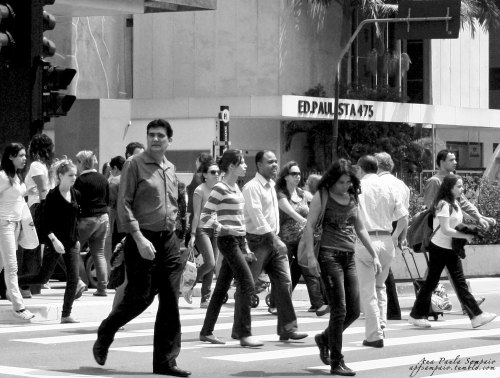 . Faces . Av Paulista Series .© Ana Paula Sampaio
