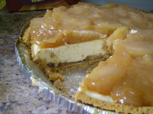 homeandhearth:  Caramel Apple Cheesecake[recipe] (via goldenhockeypuck)