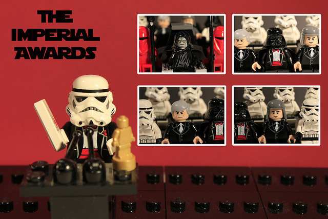 "minifigures:  ""..And The Nominees Are…"" (by Pedro Vezini)  I have to rereblog this one.  This is one of the first posts almost a year ago and it's still awesome."