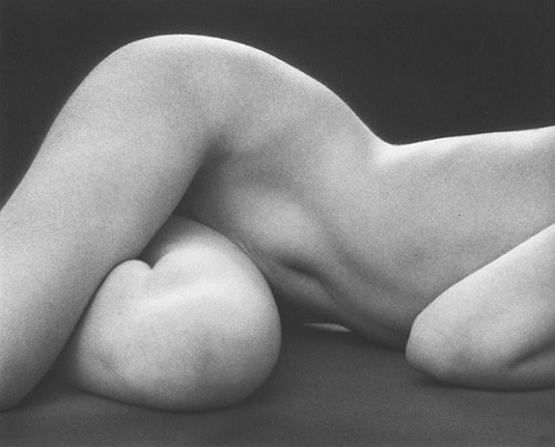 anneyhall:  Hips, Horizontal, 1975. Photo by Ruth Bernhard