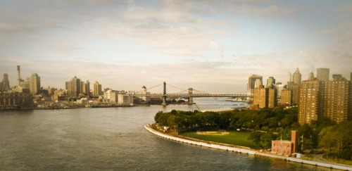 Manhattan from Williamsburg Bridge - 09/18