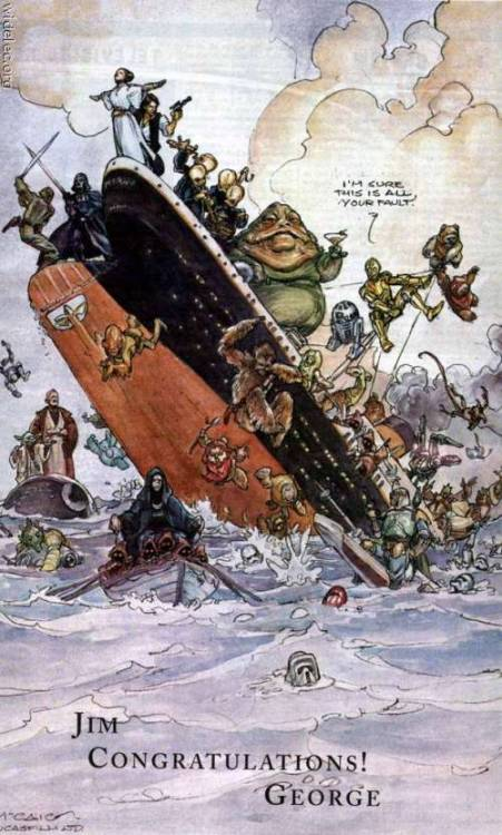 Titanic a lo Star Wars. theforce: star wars art